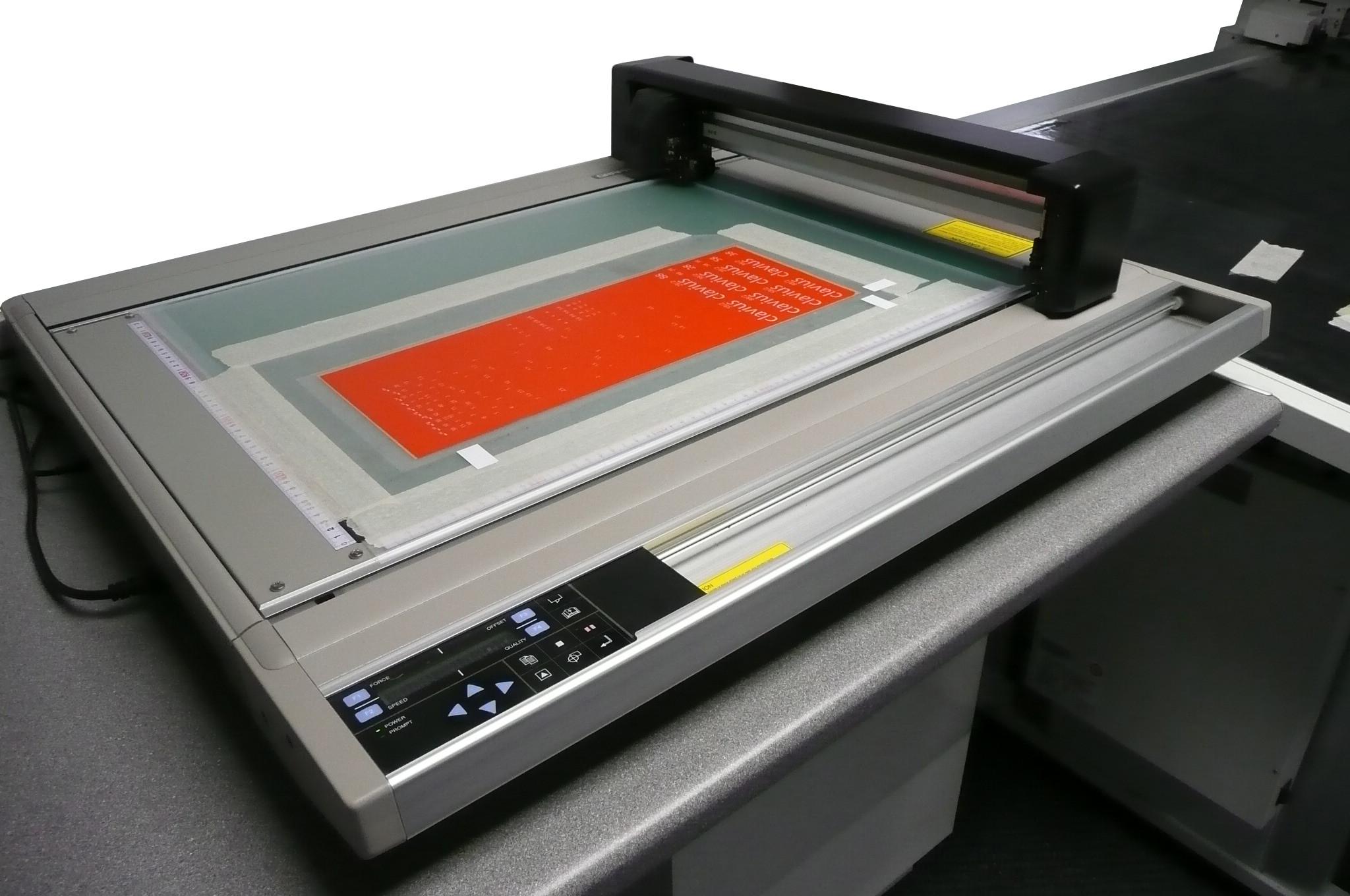 Flat Bed High Speed Digital Cutting Machine
