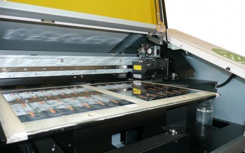 Flat Bed Digital Press