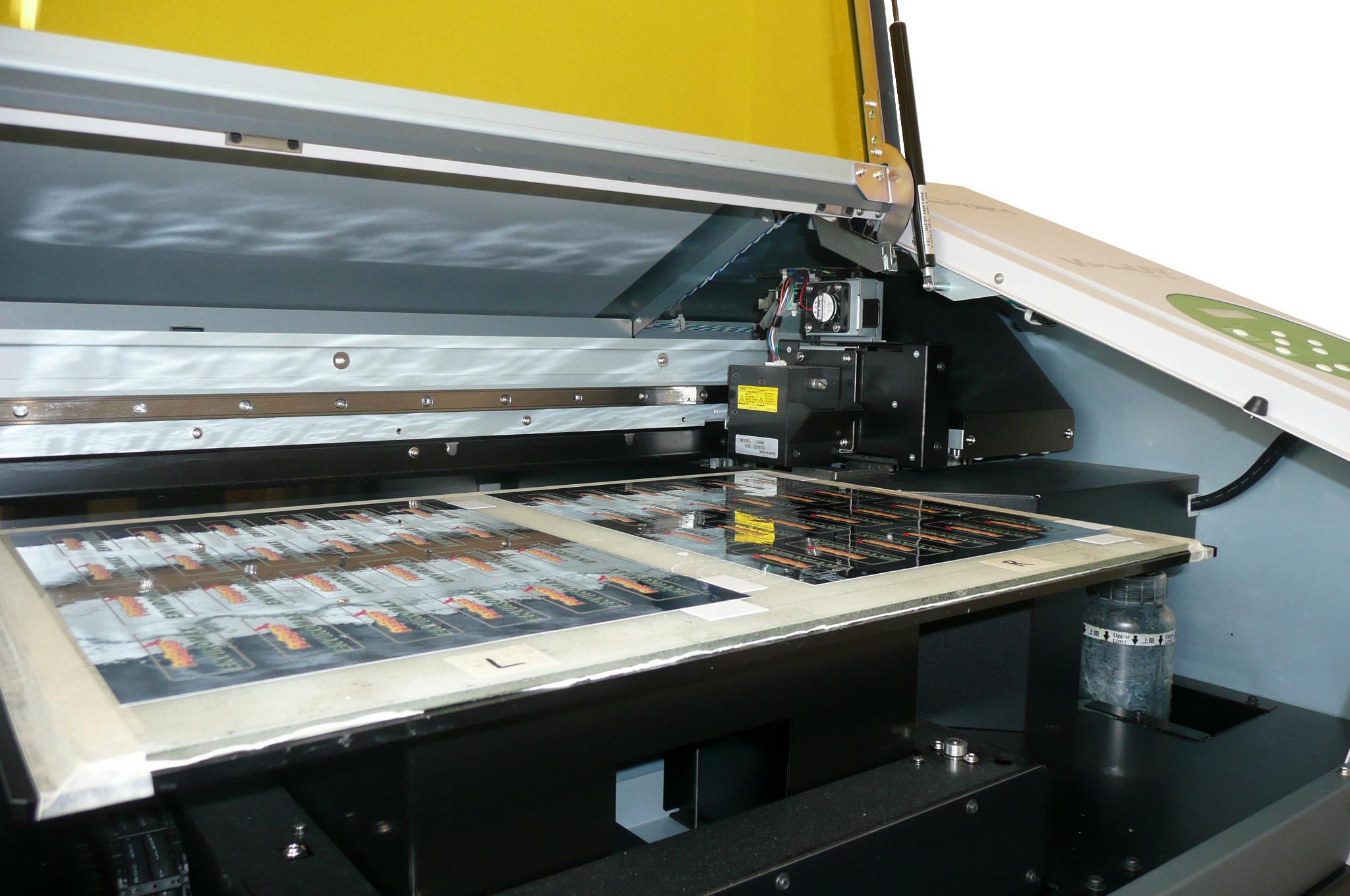 Flat Bed Digital Press