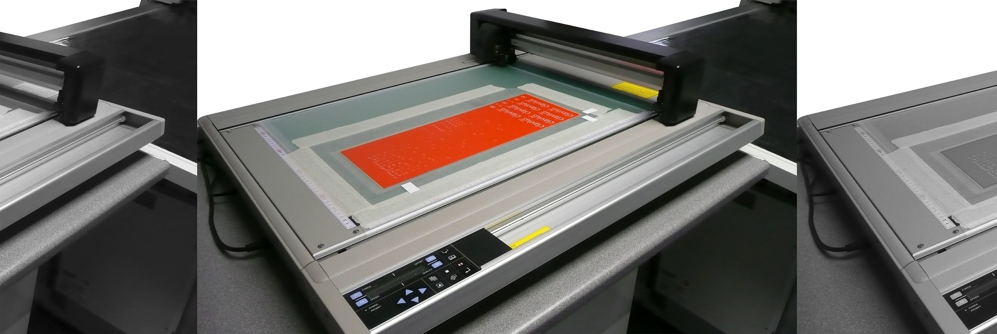 High speed digital cutting