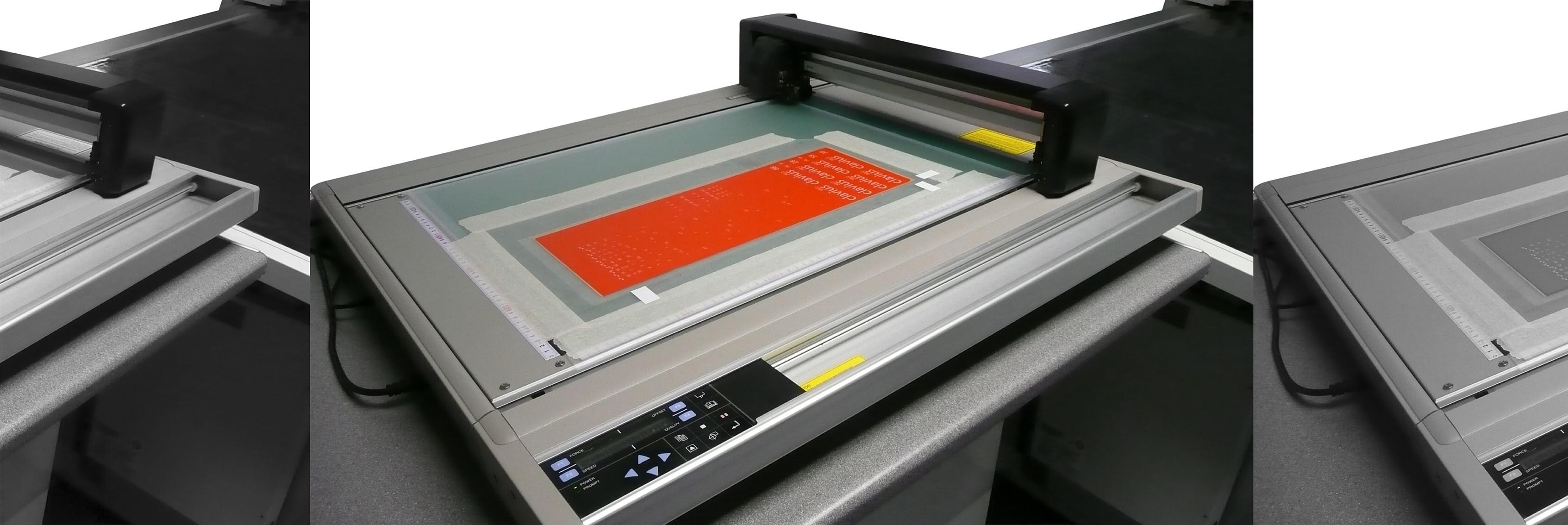 High speed digital cutting