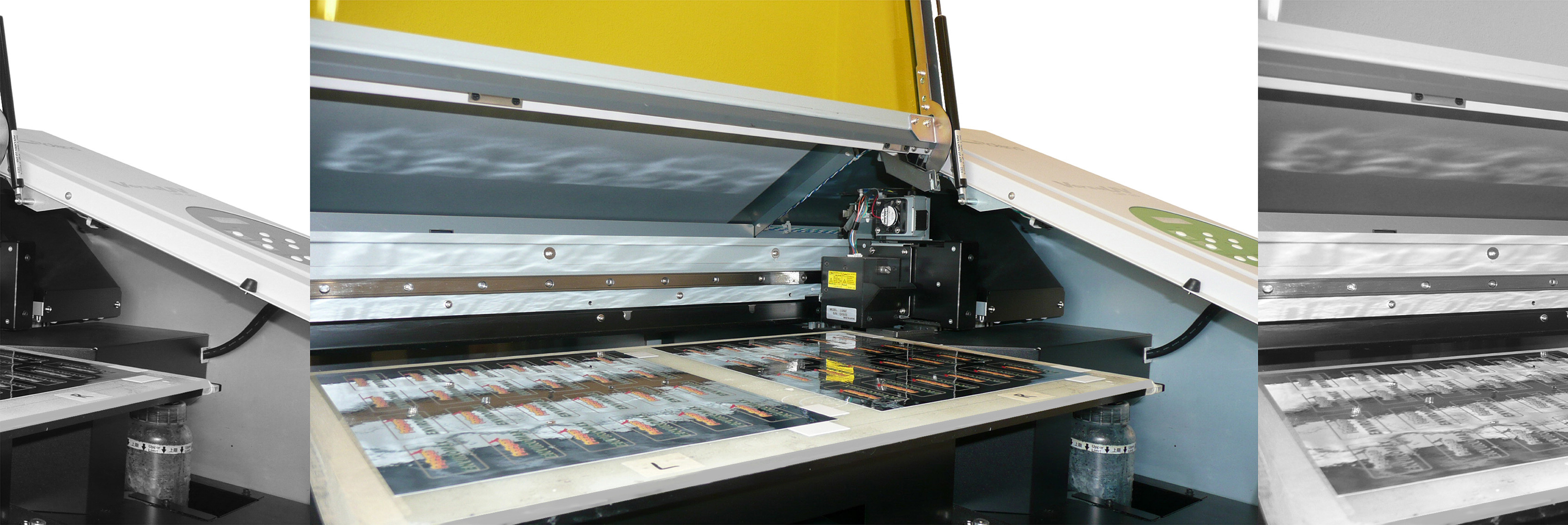 Flatbed digital printing
