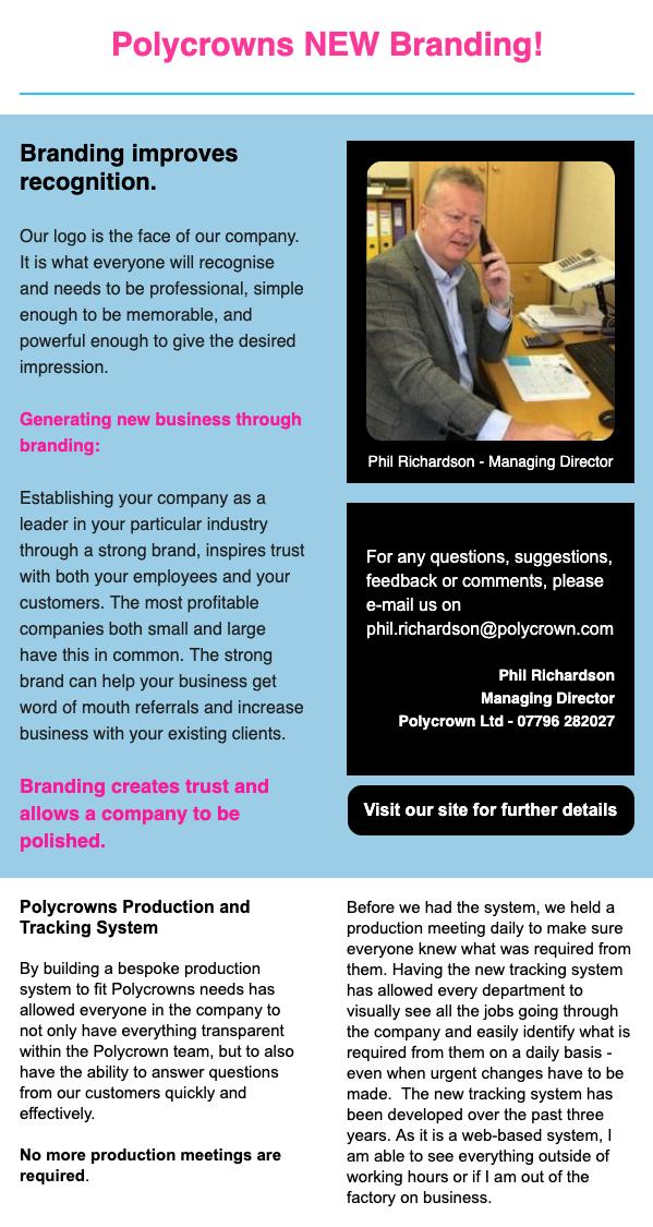 Polycrowns NEW Branding!